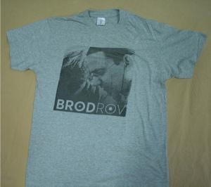Shirt donkergrijs logo en foto VOOR