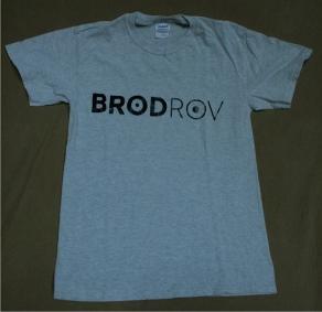 Shirt lichtgrijs logo VOOR